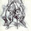 Studie-74mm-×-210mm-Bleistift-auf-papier-2005-Kopie